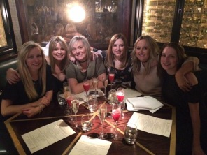 Me with my five besties at The Botanist: Emma, me, Stel, Fats, Jen and Loveland